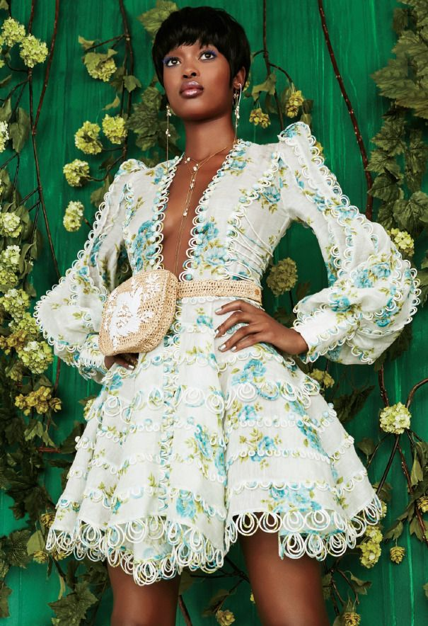 feba2983da Editorial The Whitewave Honeymooners Mini and Raffia Embroidered Bag from our  Spring 18 Ready-to-Wear Collection feature in the current issue of  Essence