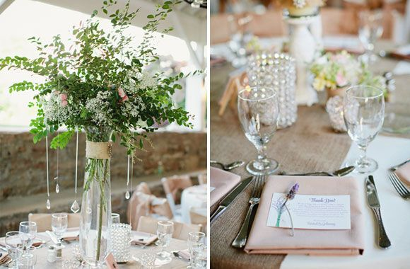 Tall Vase Centerpieces, Tall Wedding Centerpieces