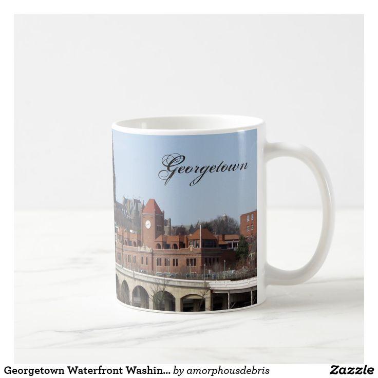 Georgetown Waterfront Washington DC mug