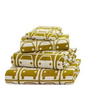 Orla Kiely towels  Photo credit: www.orlakiely.com