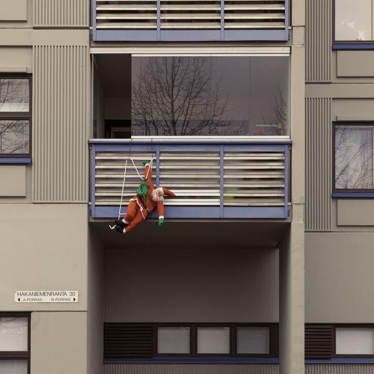 Bad Santa 😃  - Merihaka, Helsinki, Finland - null
