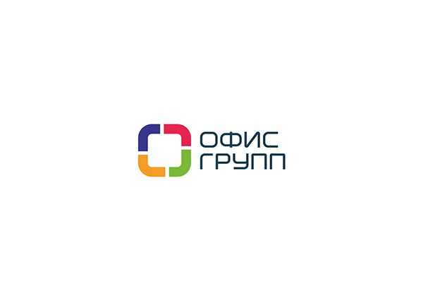 Логотип компании «Офис групп» on Behance