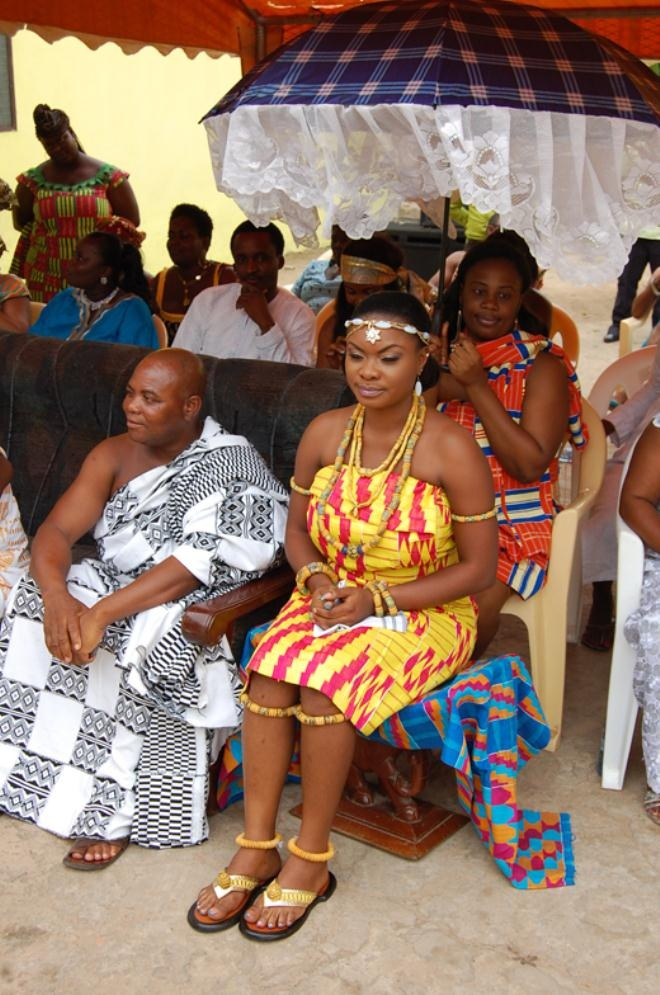 Akan Tradition Bride