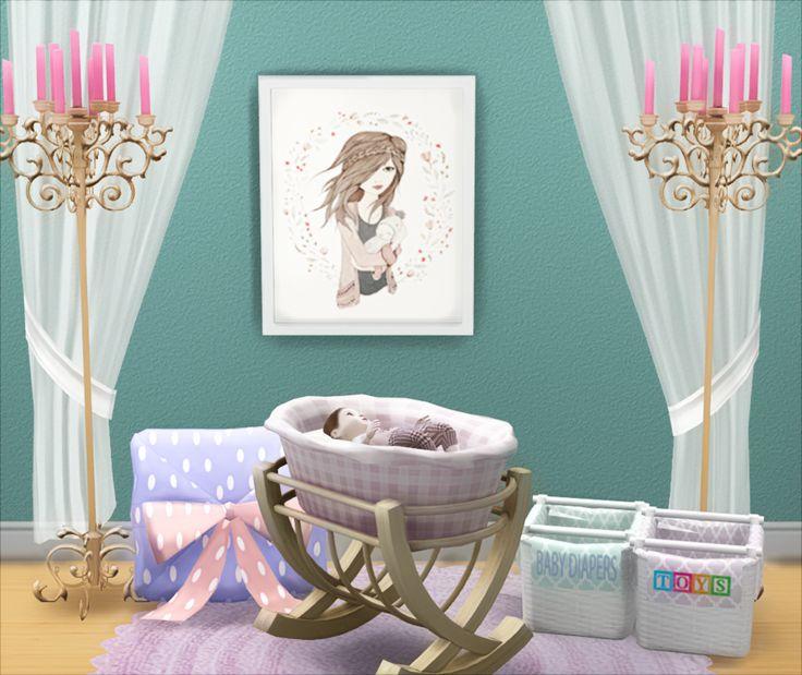 Crib Bed Swing