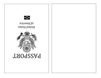 25 beste ideeën over passport template op pinterest