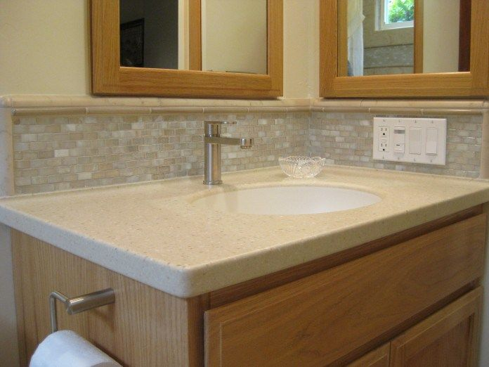Best Bathroom Backsplash Ideas Images On Pinterest Bathroom