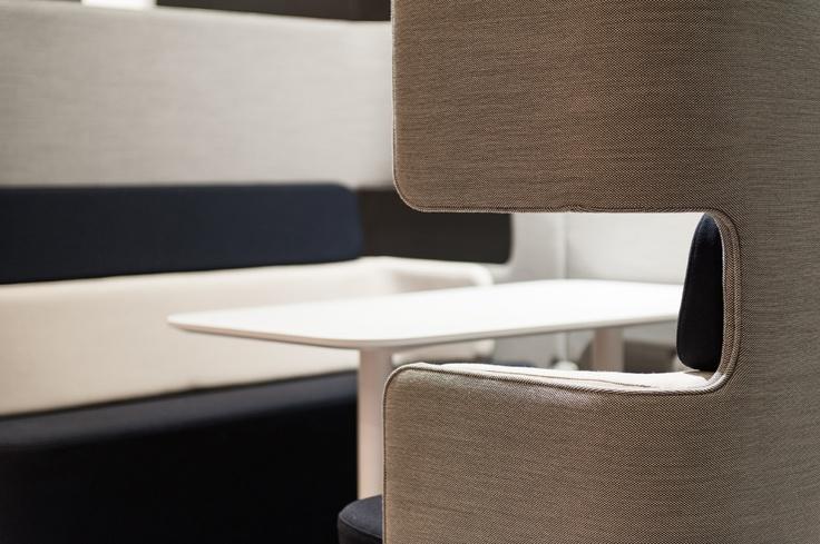 Podsofa design o4i Design Studio. Martela at the Stockholm Furniture Fair 2013. (photo Lari Järnefelt)