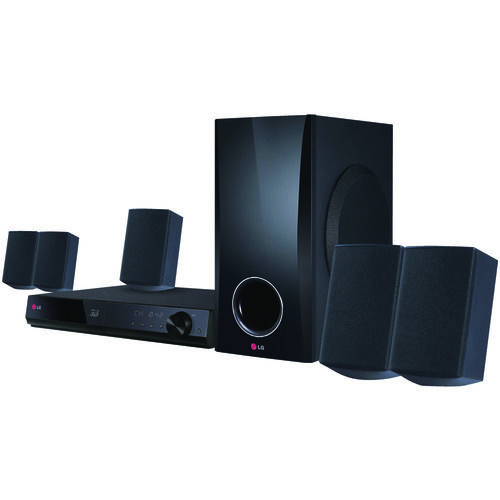 Lg 3d-capable 500-watt 5.1-channel Home Theater System With Blu-ray Disc Player