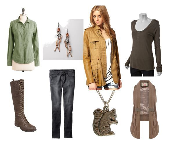 Style inspired by The Hunger Games...love this :)