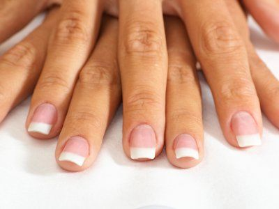 Simple but beautiful french nails French Nails, French Manicure Nails, Hair And Nails, My Nails, Nail Shapes Square, Dry Cuticles, Coffin Shape Nails, Healthy Nails, Finger
