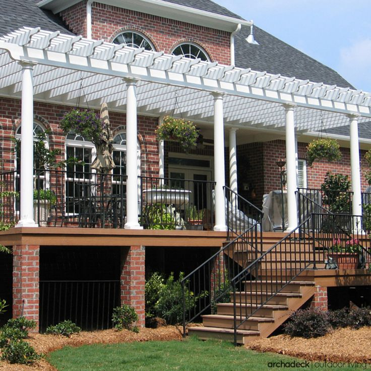 84 best images about elevated and raised deck ideas on pinterest patio decking and level - Raised decking design ideas ...