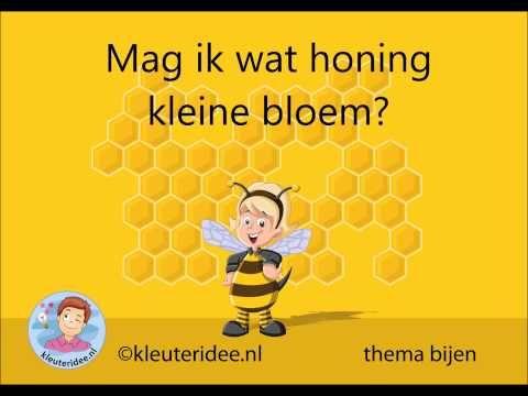 Liedje Bijen,  thema bijen, kleuteridee - YouTube