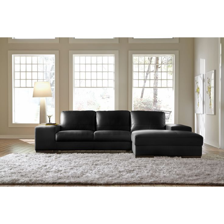 White Leather Sofas Montreal: Best 25+ Black Sectional Ideas On Pinterest