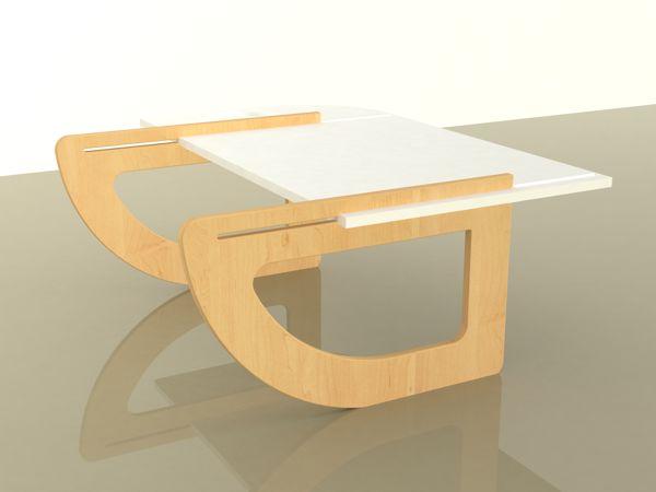 Mesita de Madera para Laptop, o I Pad, para utilizarla en sofá o cama, diseño simple, líneas simples, de fácil uso, desmontable.
