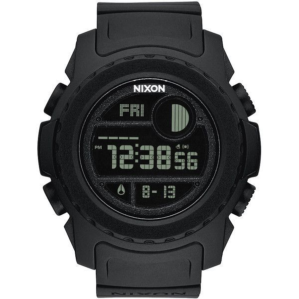 Mens Nixon Super Unit Watch Black Cotton ($255) ❤ liked on Polyvore featuring men's fashion, men's jewelry, men's watches, black, digital watches, mens watches, watches, mens digital watch, nixon mens watches and mens digital watches - popular mens gold watches, mens pocket watches, mens watches sale online