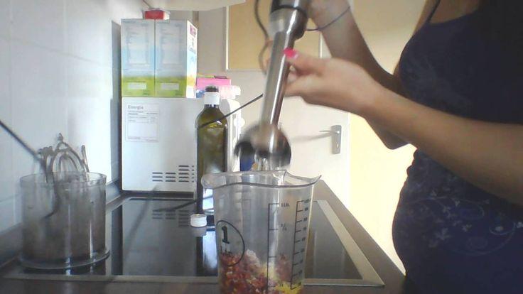 Maxomixx Stabmixer test Pesto Rosso