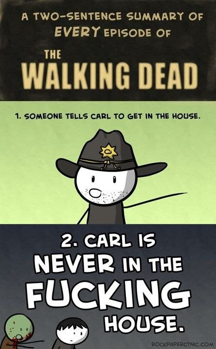 The Walking Dead summary-every damn time!
