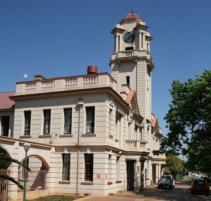 Town Hall, Potgieter Street, PotchefstroomType of site: Town Hall.