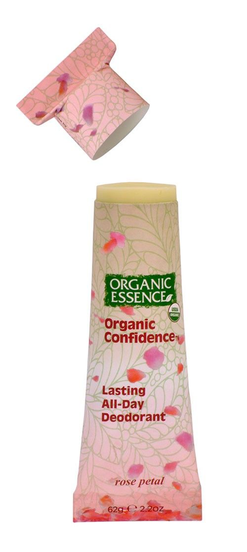 Please call 707 465-8955 or email info[at]orgess.com to place an order.    Receive a FREE bonus gift with every purchase!     USDA Certified Organic   Organic Confidence™ shuts down odor causing bacteria with baking soda and organic coconut oil   Gentle for all skin types and perfect for everyday use   Indulge yourself with the highest quality on the planet