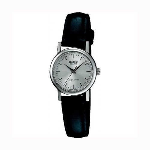CASIO-WHITE-DIAL-STAINLESS-STEEL-CASE-BLACK-LEATHER-STRAP-LTP-1095E-7A-WOMENS