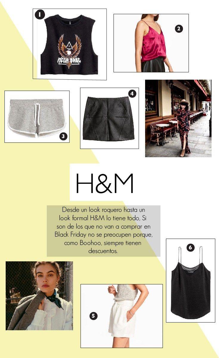H&M |  ¿No sabes donde comprar este Black Friday 2017? ¡Miren estas tiendas en linea donde pueden encontrar ropa, maquillaje y accesorios que están en tendencia!