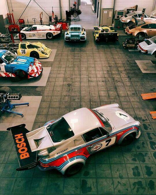 Porsche Garage #Porsche #911 #Drivetastefully