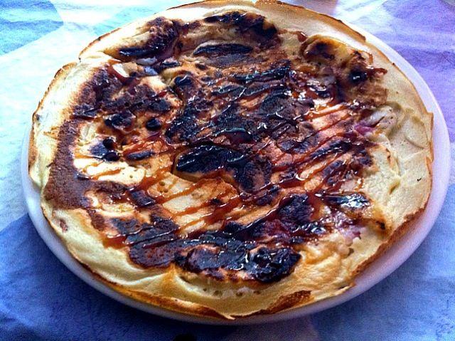 レシピとお料理がひらめくSnapDish - 2件のもぐもぐ - Apple, bacon pancake with syrup by Jordin van Deyl