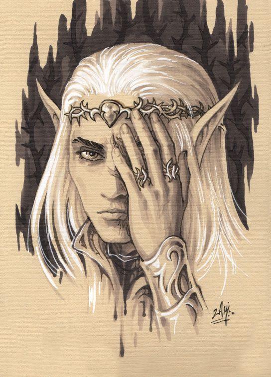 Thranduil Dragon Scar Art Related Keywords & Suggestions - Thranduil