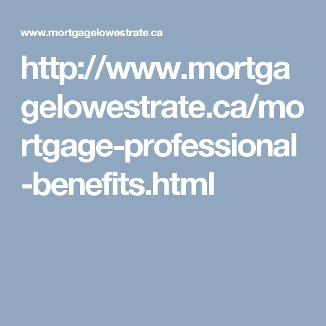 low mortgage rates canada