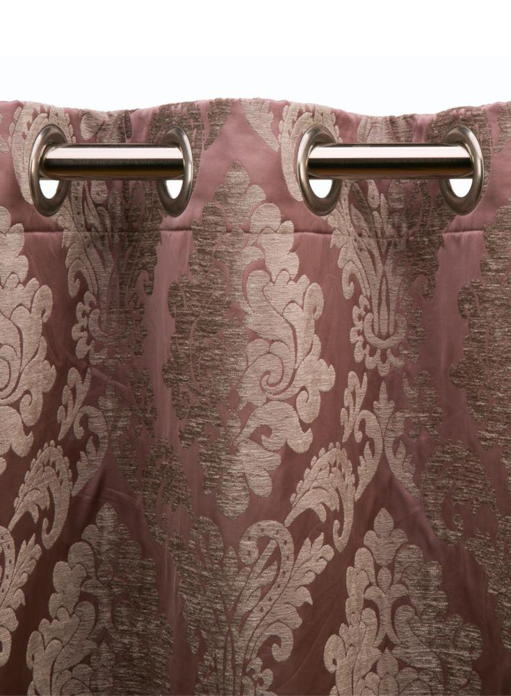 A loja do gato preto cortinado floren a medalh es rosa - Cortinas el gato preto ...