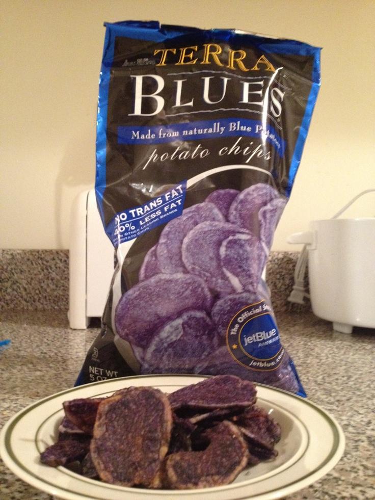 Terra blue chips.