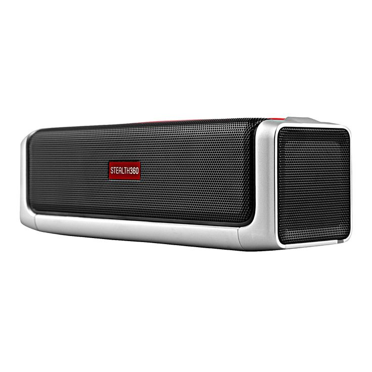 Owlee Stealth360 Portable Wireless Bluetooth Speaker - 20W - Four Powerful Drivers - Two SubWoofers - 360° Surround Sound - Full Bass - Handsfree Calling - NFC - 10+ Hours Playtime. Full Range POWERFUL SOUND with 360 SURROUND SOUND 3D™ Technology, DUAL PASSIVE BASS RADIATORS, 20W POWER OUTPUT and 10+ HOURS of Continuous Playtime. 30 FEET WIRELESS RANGE, Bluetooth 4.1 and NFC connectivity, compatible with ALL APPLE AND ANDROID PHONES AND TABLETS as well as all Bluetooth and NFC enabled...