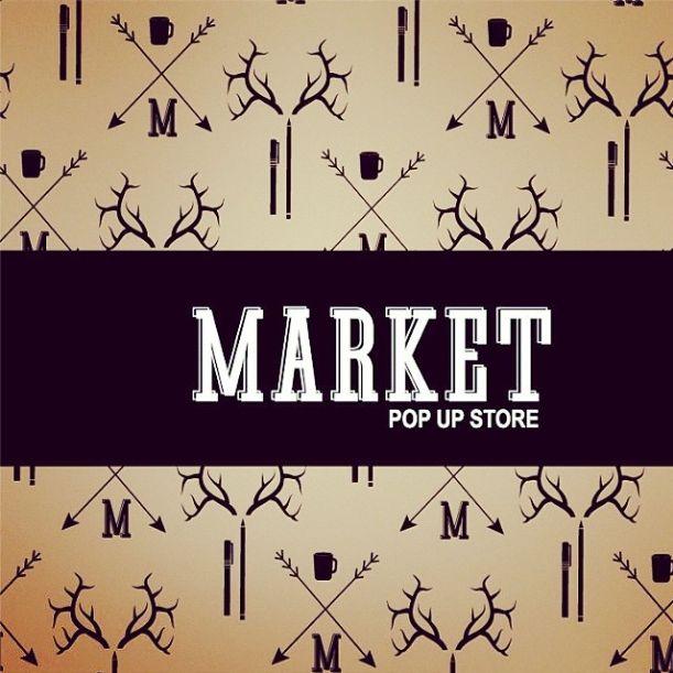 Antilope en Market pop up store