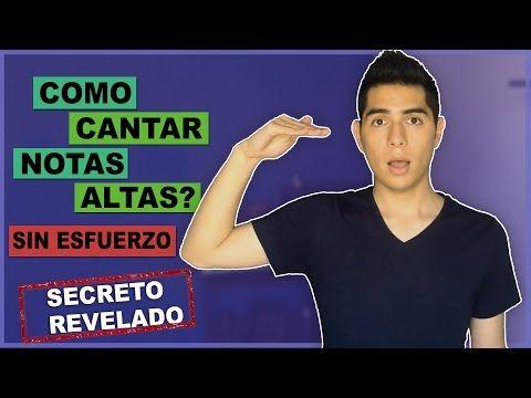 Como Cantar Notas Altas (Agudas) Sin Forzar Tu Voz? | Ampliar tu Rango Vocal | Técnica y Ejercicios - YouTube