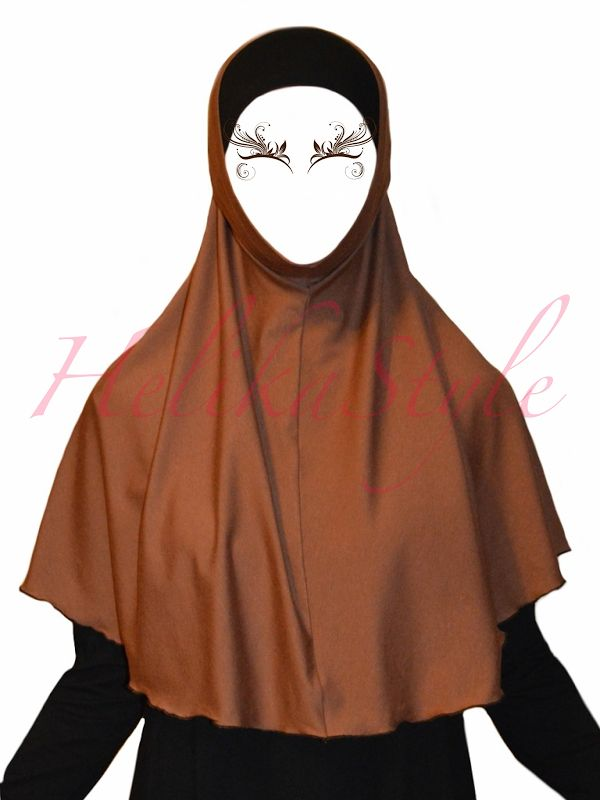 This is very popular hijab type. Very comfortable for young muslimah or for active sisters. We will sew now al-Amira hijab – 2 pieces hijab, and we will try several models.Use for this visco…