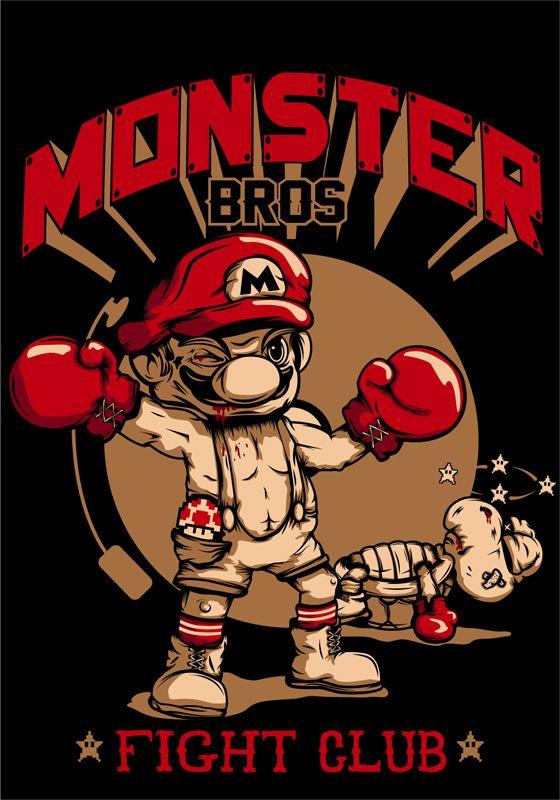 Monster Bros by Marrufo y As., via Behance