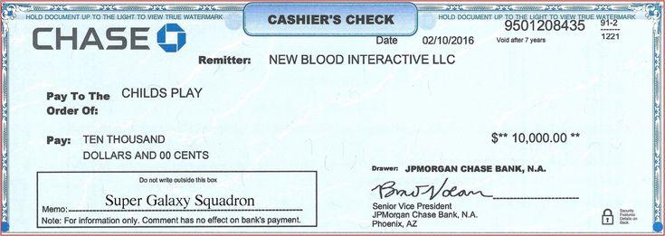 Chase bank check template inspirational cashier check
