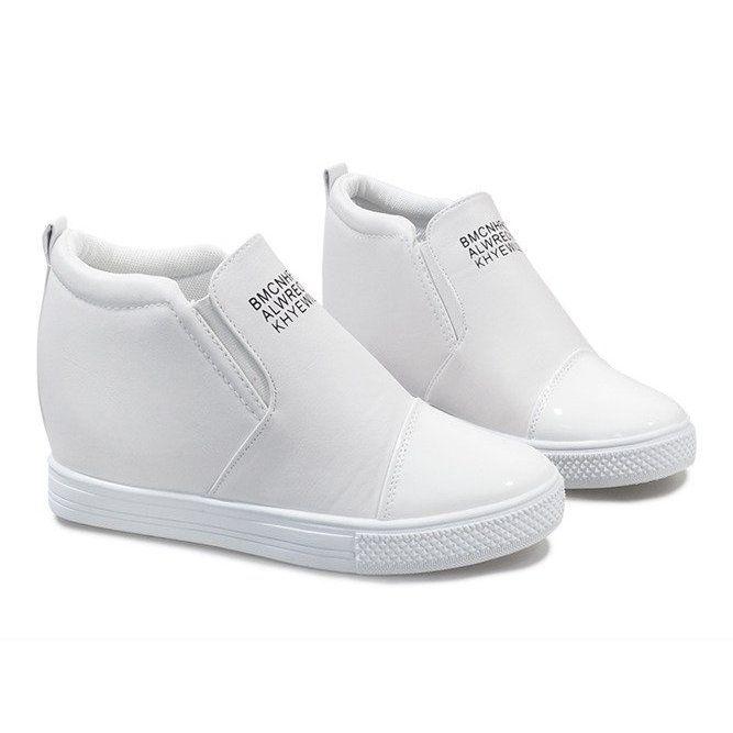 Biale Sneakersy Na Koturnie Dd408 2 Adidas Sneakers Adidas Tubular Sneakers