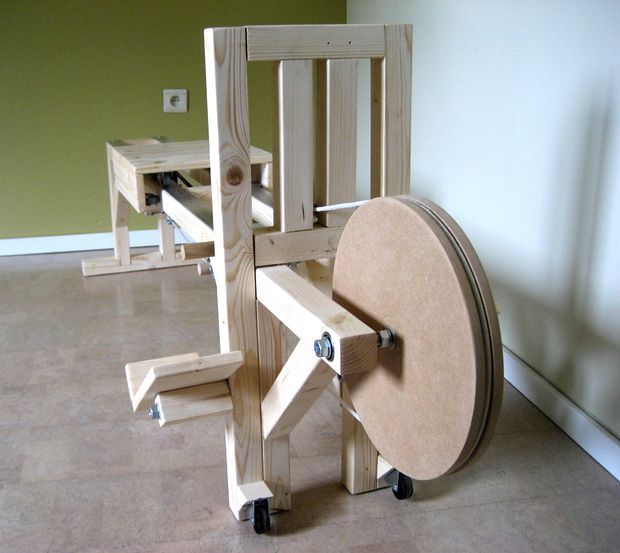 DIY Rowing Machine. Bad ass.