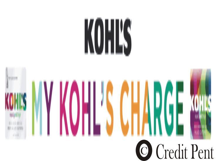Kohls credit card login kohls credit card application