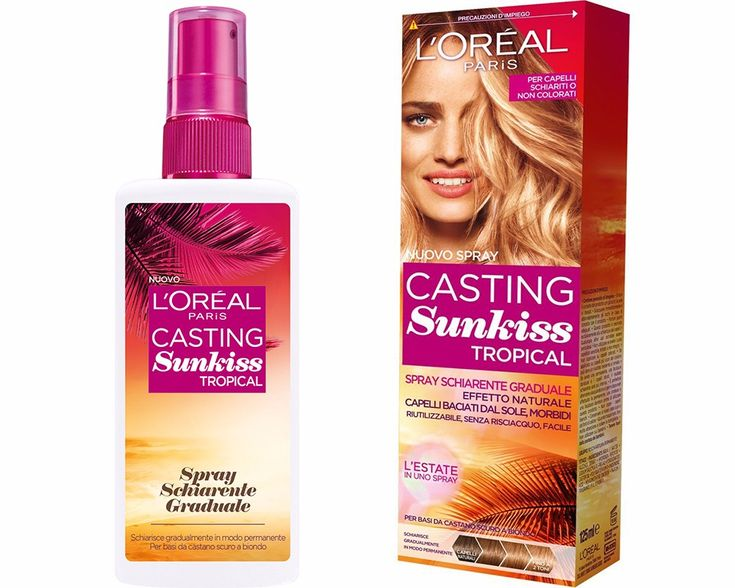 l'oreal casting sunkiss tropical_spray schiarente L'Oreal Casting Sunkiss Tropical