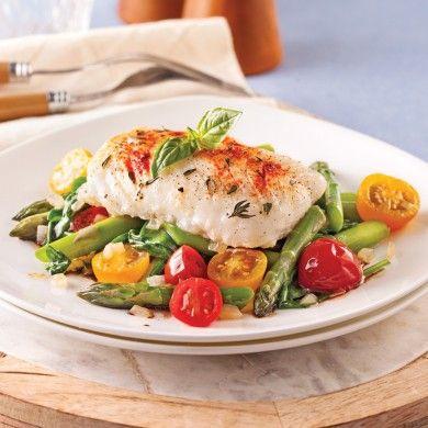 Mettez de la couleur et de la saveur dans votre assiette avec cette délicieuse recette de poisson!