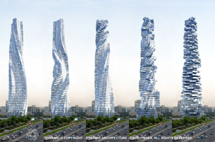 Dynamic Tower: Dubai (not yet built ... or is it?)