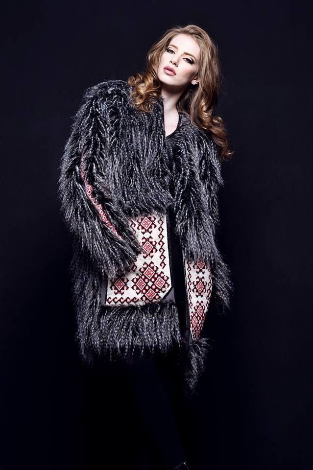 Roman Gabriella FW 2014-2015  #fur #embrodery #traditional  https://www.facebook.com/RomanGabriella.Designer?ref=br_rs