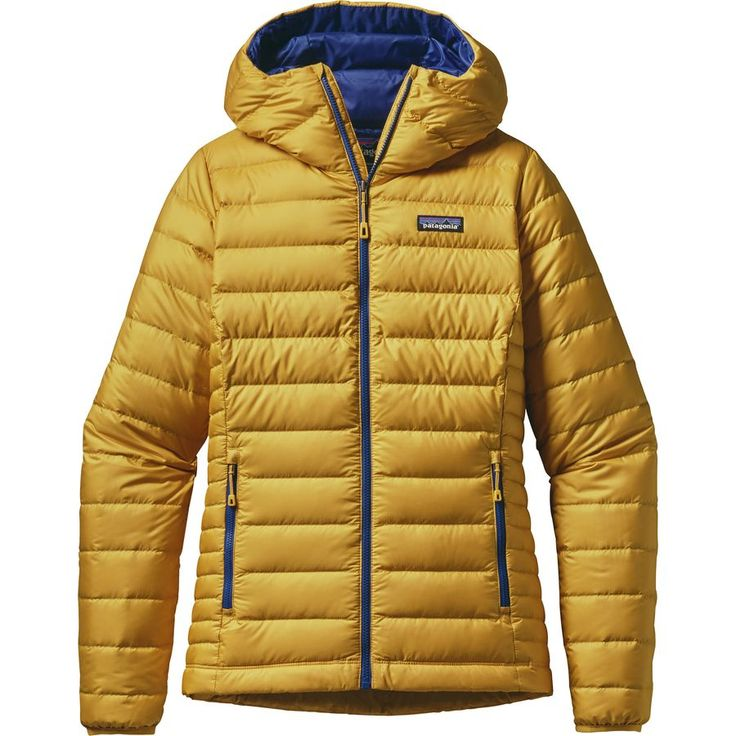 Patagonia - Down Sweater Full-Zip Hooded Jacket - Women's - Sulphur Yellow