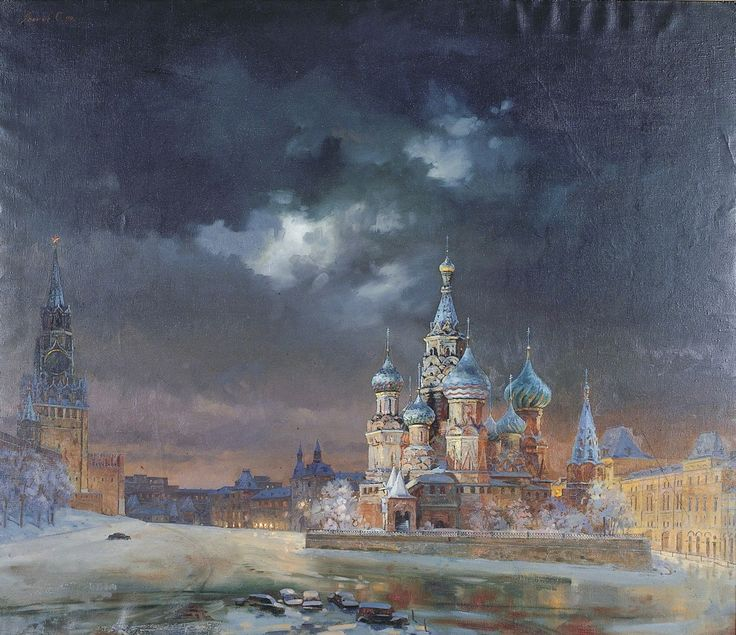 Oleg Leonov is a Russian Artist who was born in 1959 and later graduated at Kazan Art School in 1980, at Moscow State Art Institute, a studio of portraying by prof. Ilya Glazunov. Since the year 1988, Oleg Leonov has participated many art exhibitions, such as All-Russian and foreign exhibitions and All-Union exhibitions.