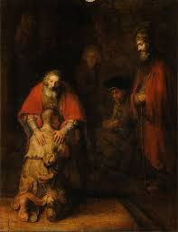 rembrandt prodigal son ~ love the painting~ Prodigal Son means so much~ praise you Father that you never give up.