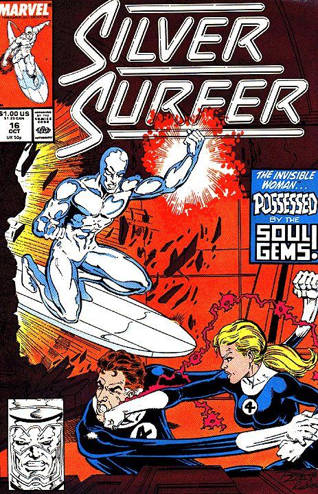 Silver Surfer Vol. 3 # 16 by Ron Lim & Joe Rubinstein