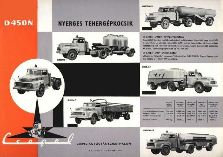 1957  Csepel D450N