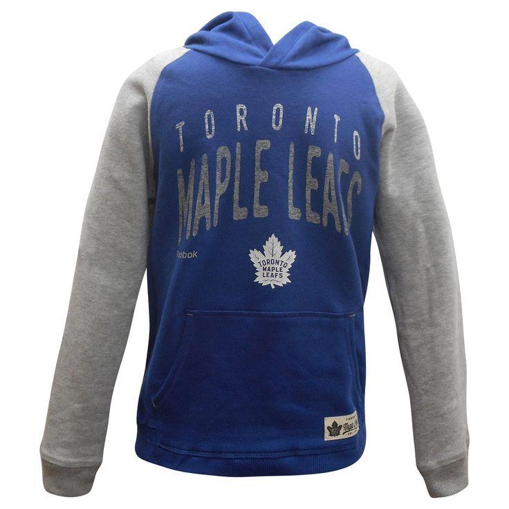 Toronto Maple Leafs Reebok Youth Legacy Foundation Hoody - shop.realsports